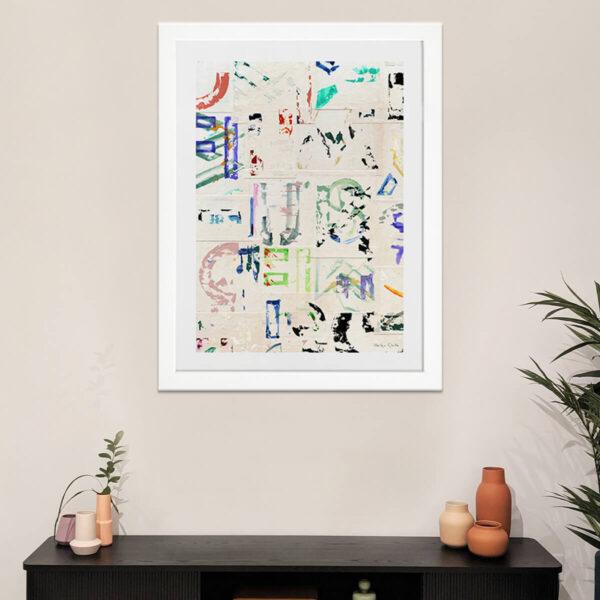 Helga-Grollo-HG4-My-Artist-Lab-Editions-edicion-limitada-marco-blanco-ambiente