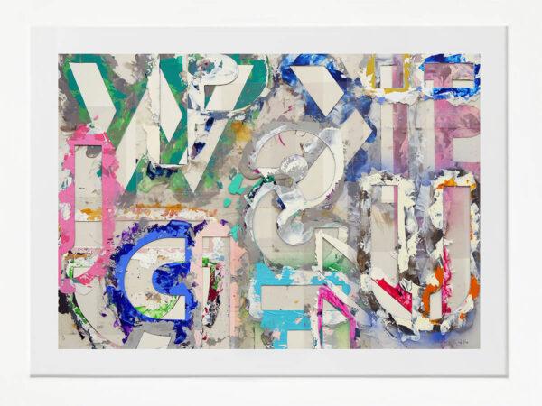 Helga Grollo #HG7 enmarcada en blanco